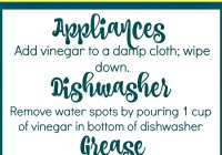 Kitchen Cleaning Recipes with Vinegar Free Printables at sewlicioushomedecor