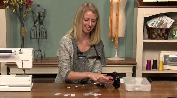 The anatomy of a sewing machine needle explained - video
