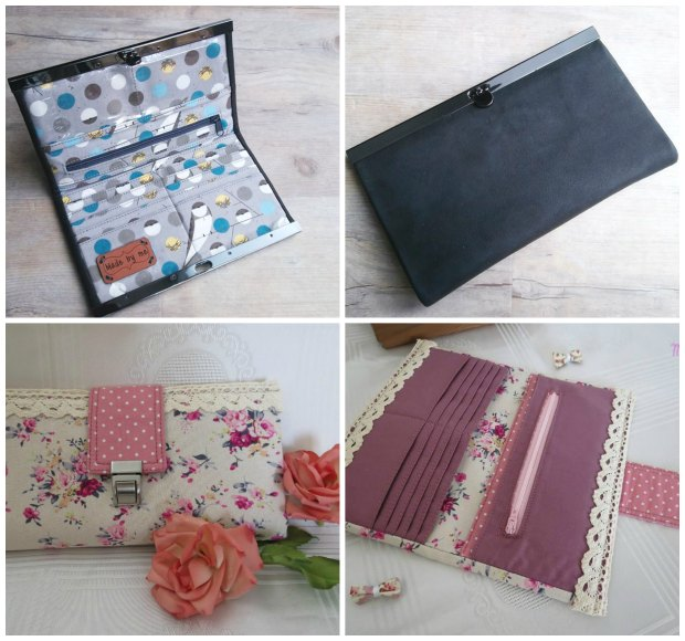 Rozy wallet sewing pattern. Seriously, this wallet sewing pattern has everything - even a video.