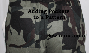 How to Sew: Adding Pockets to a Pants or Shorts Pattern