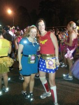 2013 Disney Princess Half Marathon - Merida & Wonder Woman