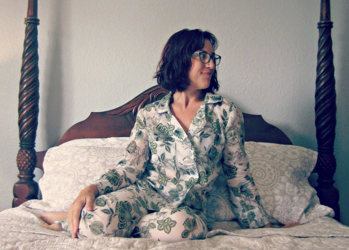 Floral Carolyn Pajamas