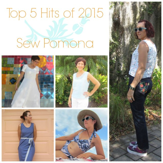 Top Five Hits of 2015 Sew Pomona