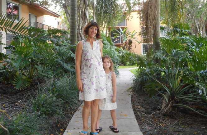 Mommy and Me True Bias Colfax Dresses', Sew Pomona