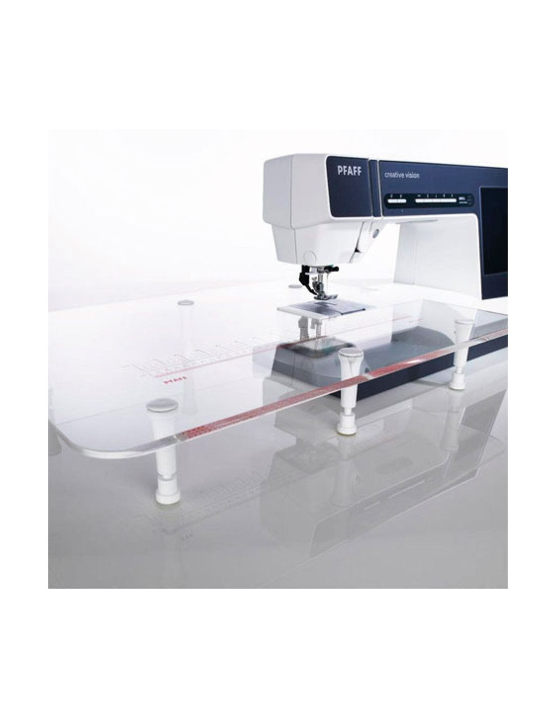 Table Transparente Plexiglass Quilt Extension Table Pfaff Creative Expression Sewing Machines