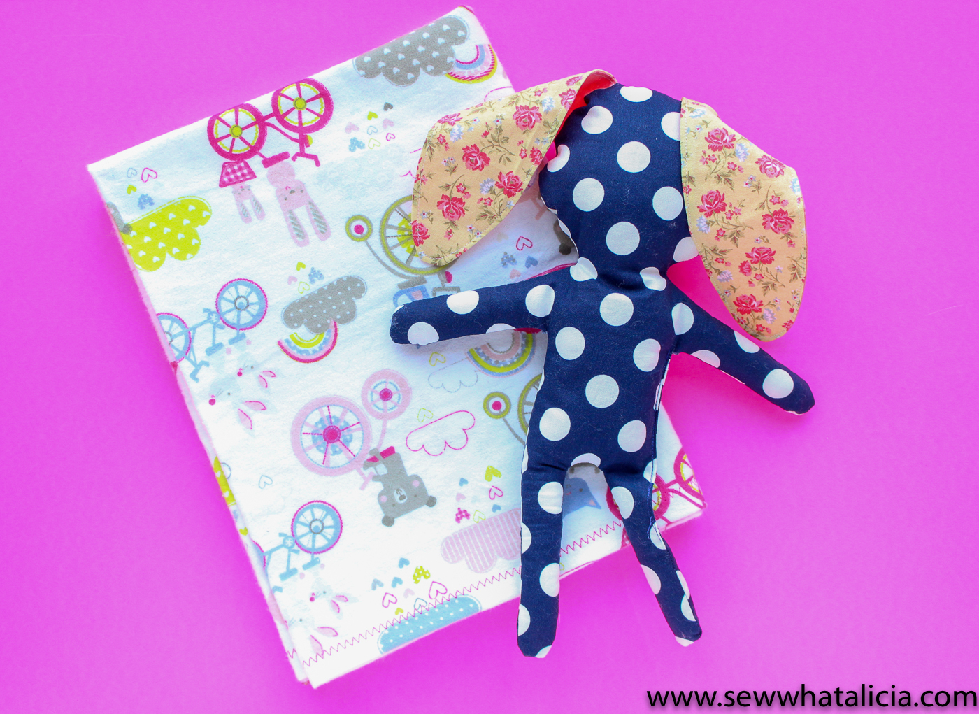 How To Make A Baby Blanket How To Make A Baby Blanket 13 Sew What Alicia