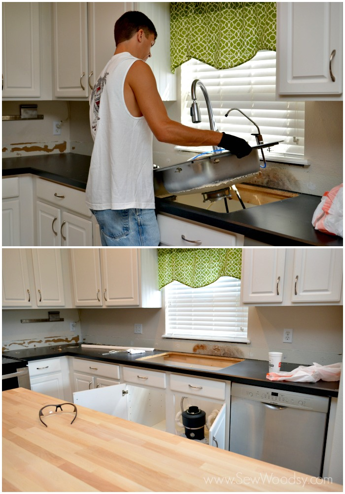 How To Remove Formica Kitchen Countertops Sew Woodsy