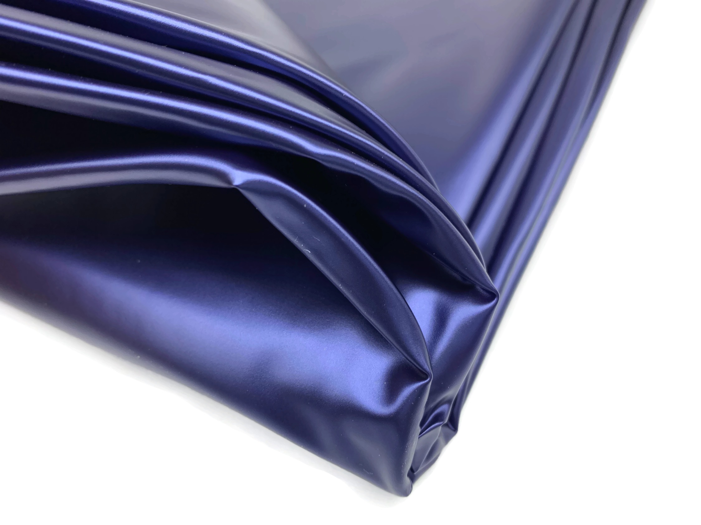 Latex Bettwäsche Sexlaken Wasserdicht Bettlaken In Blau 180x240cm Metallic Optik Kein Latex
