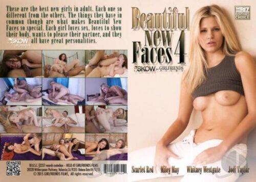 Beautiful New Faces 4, Porn DVD, Skow for Girlfriends, B. Skow, Scarlet Red, Miley May, Whitney Westgate, Jodi Taylor, 18+ Teens, All Sex