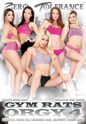 Gym Rats Orgy # 4 DVD Zero Tolerance XXX