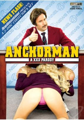 Anchorman XXX Parody DVD New Sensations 2 Disc Collector's Set