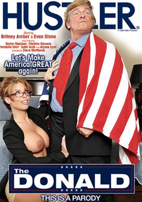 The Donald: This Is A Parody XXX DVD