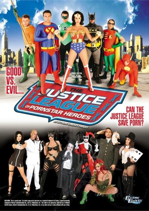 The Justice League of Pornstar Heroes XXX: An Extreme Comixxx Parody Movie
