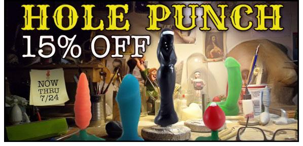 SheVibe Hole Punch Sale