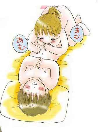 La crema de la lechera a la mamada