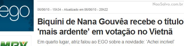 ego8 Fim do maior site de humor do BraZil, #EGO
