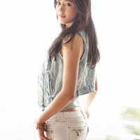 Jeon Ji Hyun Guess Jeans & Denim