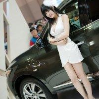 Hwang Mi Hee Busan Motorshow