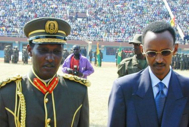 Gen. Kayumba Nyamwasa and President Paul Kagame of Rwanda