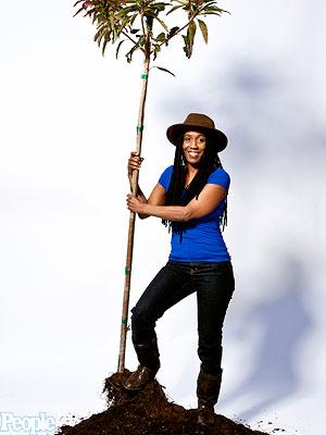 Kemba Shakur, Urban Releaf, Oakland Tree Lady