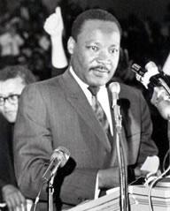 Martin Luther King speaks Mason Temple, Memphis 040368
