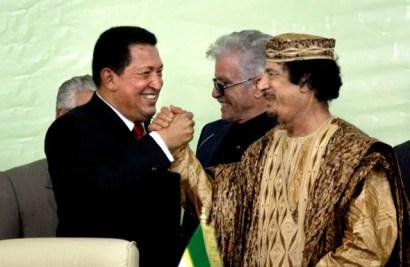 Hugo Chavez, Moammar Gadhafi