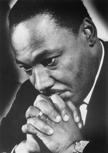 Martin Luther King in Grosse Pointe Farms, Mich., targeted by racist, anti-open housing gang 031468 by Pan-African News