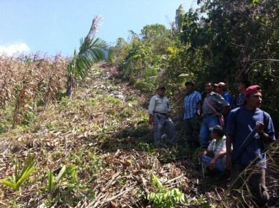 Belize Territorial Volunteers on Guatamala-Belize border 040613