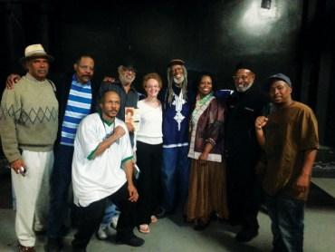 Cynthia McKinney Tour w Panthers, JR at Kaos Network, LA 042313 by JR