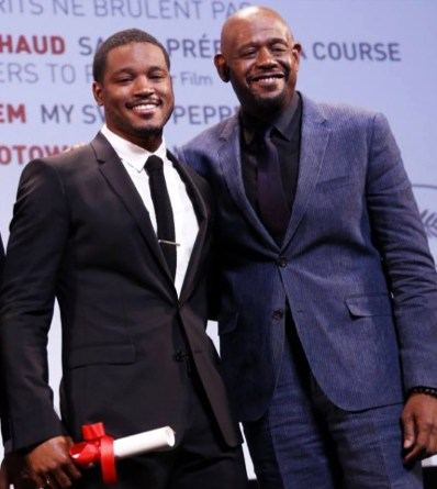 Ryan Coogler, Forest Whitaker accept Un Certain Regard Future Prize at Cannes Film Festival 052513