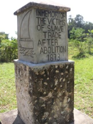 Mangapwani Slave Cave Monument at Chuini 0713 by Wanda