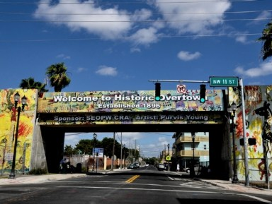 'Welcome to Historic Overtown' Miami