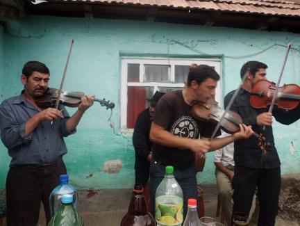 Gypsy musicians by Chuck Todaro
