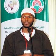 Malcolm Shabazz speaks Qaddafi's Tripoli Libya conf 0111 by BR, web