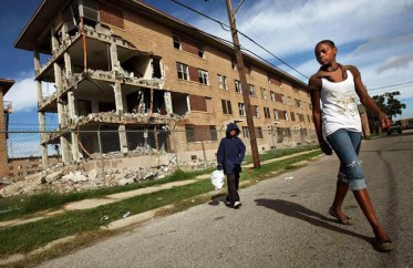 New Orleans public housing demolition