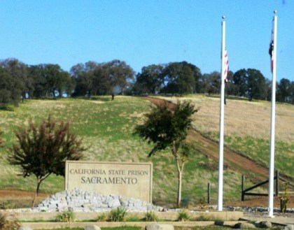 California State Prison Sacramento (New Folsom) entrance