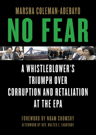 'NO FEAR A Whistleblower's Triumph Over Corruption and Retaliation at the EPA' cover
