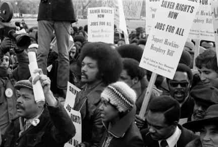 Jesse Jackson, PUSH rally for full employment bill 011575, web