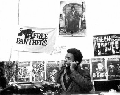 Mumia Panthers Min. of Info 1970 by Phila. Inquirer
