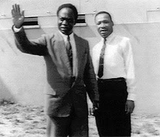 Kwame Nkrumah, Martin Luther King 030657
