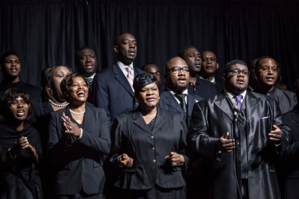 Chokwe Lumumba's funeral Mississippi Mass Choir 030814 by William Widmer, NYT, web