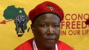 Julius Malema by SABC