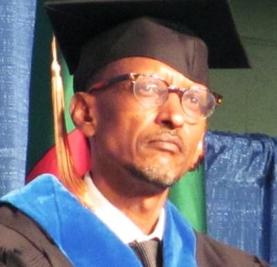 Rwandan President Paul Kagame receives honorary doctorate William Penn University 051212