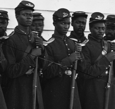 These infantrymen were among the Black founders on Memorial Day on May 1, 1865, in Charleston, South Carolina.