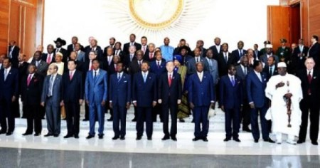 "African leaders gathered at the African Development Bank's 50th anniversary meeting and celebration, held in Kigali, Rwanda, to discuss ""'The Next 50 Years: The Africa We Want."""
