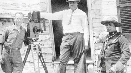 Oscar Micheaux directing
