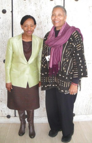 "Dr. Zonke Zaneke Majodina and Efia Nwangaza both participated in the ICCPR in Geneva March 14-15, 2014, Dr. Majodina as a member of the U.N. Human Rights Commission and Nwangaza to testify on behalf of U.S. political prisoners. Dr. Majodina cited Herman Wallace, who died four days after his release, which was blocked for decades solely because of the warden's fear of ""Black Pantherism."" ""Cuba, Venezuela and South Africa called for the unconditional release of all U.S. political prisoners,"" Ms. Nwangaza said. Both women called for U.N. Special Rapporteur on Torture Juan Mendez to be given unfettered access to all prisons in the U.S."