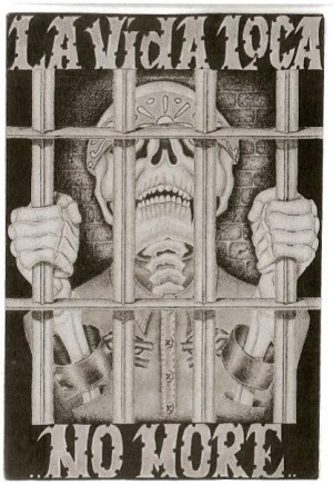 'La Vida Loca ... no more' art by PBSP SHU prisoner