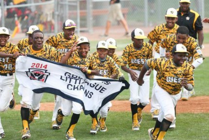 First they won the Great Lakes Little League championship.