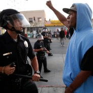 Michael Brown rebellion Black youth confronts police